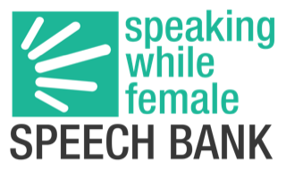 Speaking While Female Speech Bank